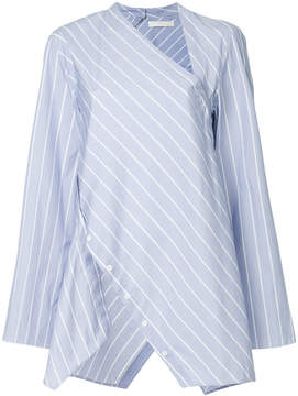 Dion Lee spiral stripe shirt