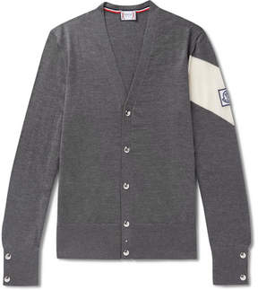 Moncler Gamme Bleu Virgin Wool Cardigan