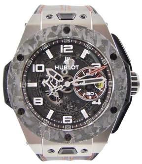 Hublot Ferrari Big Bang UNICO Titanium / Leather 45.5mm Mens Watch