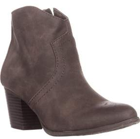 American Rag Ar35 Rylie Casual Low-heel Ankle Boots, Mocha.