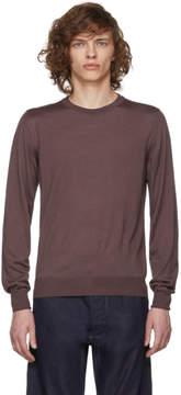 Brioni Pink Knit Sweater