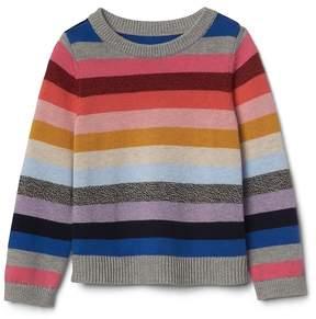Gap Crazy stripe crew sweater