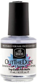 INM Out The Door, America's #1 Super Fast Drying Top Coat For Nails