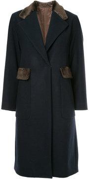 CITYSHOP boxy single-breasted coat