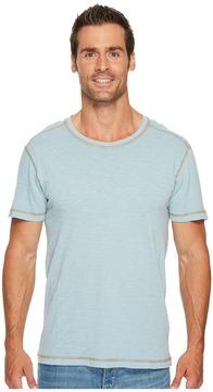 Agave Denim Skeg Short Sleeve Slub Jersey T-Shirt Men's Clothing