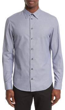 Armani Collezioni Geo Jacquard Sport Shirt