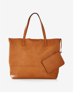 Express Street Level Casual Tote With Wristlet