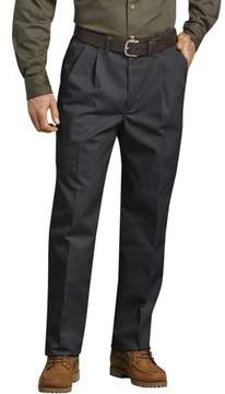 Dickies Genuine Big Men's Pleated Front Comfort-Waist Work Pant