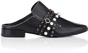 3.1 Phillip Lim Women's Embellished-Strap Leather Mules