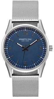 Kenneth Cole Classic Stainless Steel Battery Powered Analog Watch