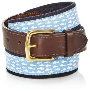 Vineyard Vines Go Fish Canvas Club Belt