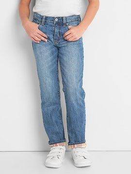 Gap Flannel-lined original jeans