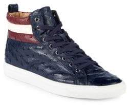 Bally Heaven High-Top Leather Sneakers