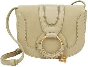 See by Chloe Circle Detail Green Shoulder Bag