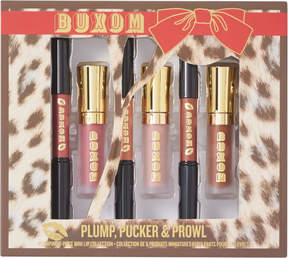 Buxom Plump, Pucker, Prowl Plumping 6 Pc Lip Collection