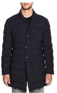 Montecore Men's Blue Polyamide Down Jacket.