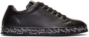 Fendi Black Vocabulary Sneakers