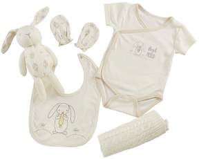 Baby Aspen 5-pc. Bunny Welcome Home Bodysuit