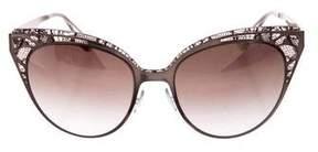 Jimmy Choo Lace Cat-Eye Sunglasses