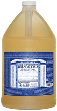 Dr. Bronner's Peppermint Castile Liquid Soap by 1280z Liquid Soap)