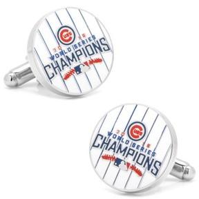 Cufflinks Inc. Men's Cufflinks, Inc. Chicago Cubs World Series Cuff Links