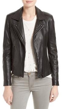 IRO Women's 'Han' Lambskin Leather Moto Jacket