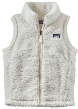 Patagonia Girl's Los Gatos Fuzzy Fleece Vest