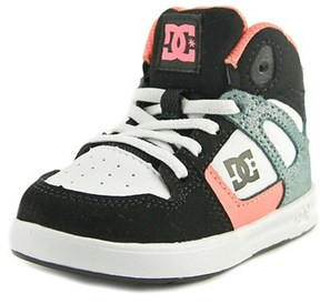 DC Rebound Se Ul Round Toe Leather Skate Shoe.
