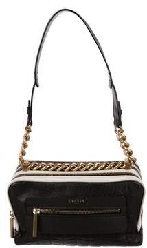 Lanvin Quilted Leather Chain-Link Shoulder Bag