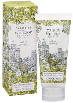 Lily Of The Valley Nourishing Hand + Nail Cream by Woods of Windsor (3.4oz Cream)