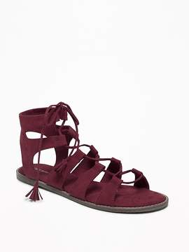Old Navy Lace-Up Gladiator Sandals for Women