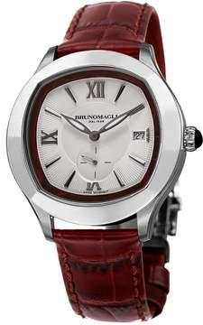Bruno Magli Men's Swiss Made Ronda Quartz Normtech 6004.D Amadeo Watch, 42mm