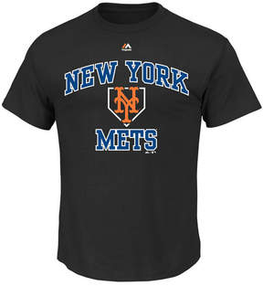 Majestic Men's New York Mets Hit and Run T-Shirt