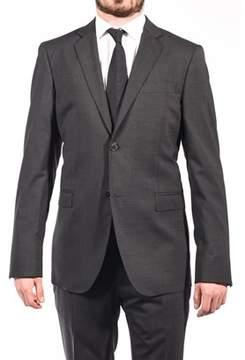 Pierre Balmain Wool Two Button Suit Dark Grey.