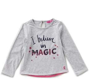 Joules Little Girls 1-6 I Believe In Magic Long-Sleeve Tee