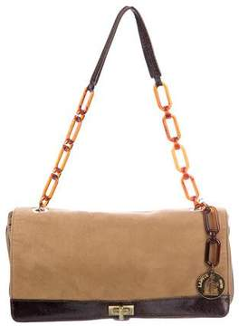 Lanvin Suede Shoulder Bag