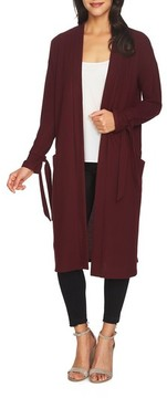 1 STATE Women's 1.state The Cozy Tie Sleeve Cardigan