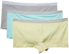 Calvin Klein Underwear Pure Seamless 3-Pack Boyshorts Women's Underwear