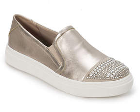 Foot Petals Champagne Finley Suede Slip-on Sneaker - Women