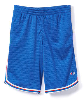 Champion Team Blue Stripe Mesh Shorts - Boys
