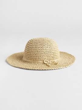 Gap Floppy Straw Sun Hat