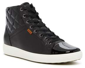 Ecco Soft 7 Quilted High-Top Sneaker