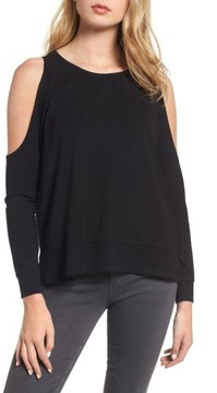 Cupcakes And Cashmere Women's Mariam Cold Shoulder Tee