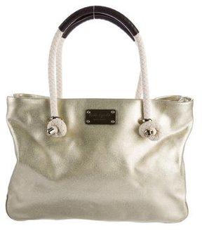 Kate Spade Metallic Shopping Tote - GOLD - STYLE