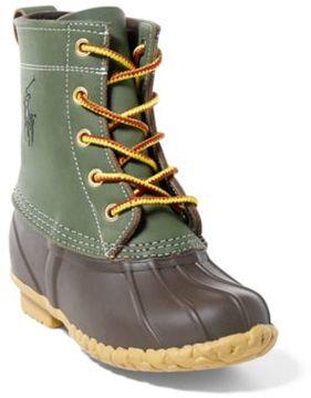 Ralph Lauren Ewan Lace-Up Boot Hunter Green 1.5