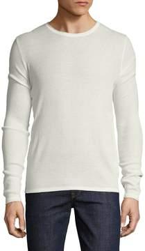 Parke & Ronen Men's Solid Long Sleeve Thermal Top