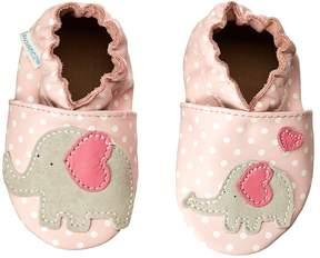 Robeez Little Peanut Soft Soles Girls Shoes