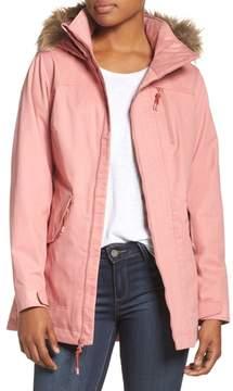 Burton Hazel Waterproof Hooded Jacket with Removable Faux Fur Trim