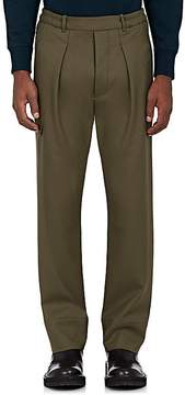 Lemaire Men's Wool Twill Carrot-Leg Trousers