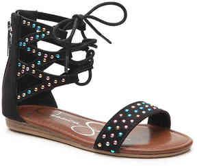 Jessica Simpson Girls Margo Toddler & Youth Gladiator Sandal